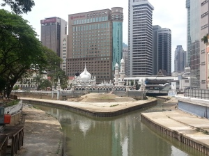 The first Mosque in KL.