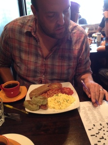 Can't nobody hold us down, oh no...we got to keep on brunching'...and doing the NYT crossword, before everybody else cause you nerds are all still asleep!