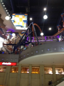 A theme park inside a 10 story mall...13 year-old me eat you're heart out....