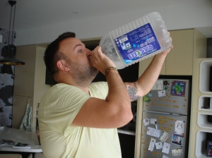 It's hot here, gotta stay hydrated!
