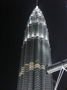 The Towers at night. They are really quite beautiful
