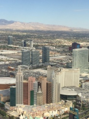 Great view of the strip!